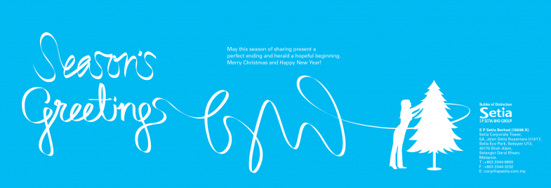 S P Setia Corporate Greetings (Season's Greetings)