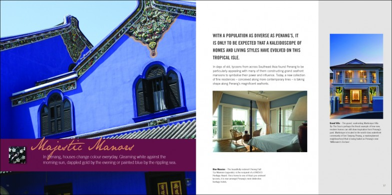 E&O Book about Penang travel and holiday destination